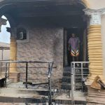 BREAKING: Sunday Ighoho's house in Ibadan razed by Soldiers